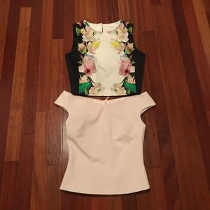 Bundle of Ted Baker Cropped Tops